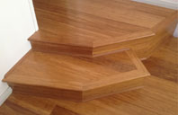 professionally installed residential bamboo flooring